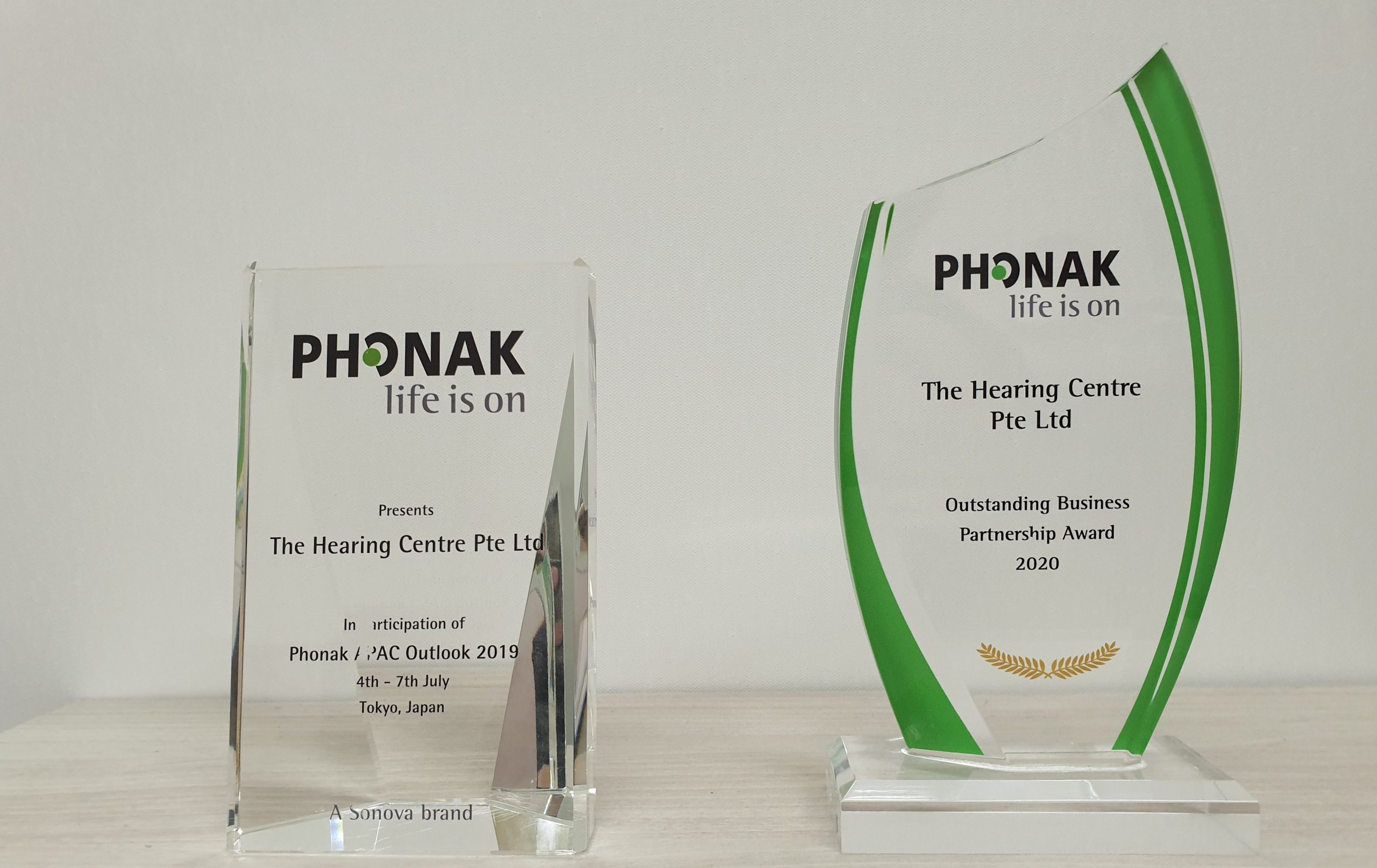 Awards from Phonak