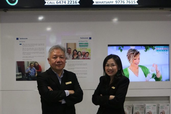 Earnest Poh and Brenda Fu - The Hearing Centre Singapore