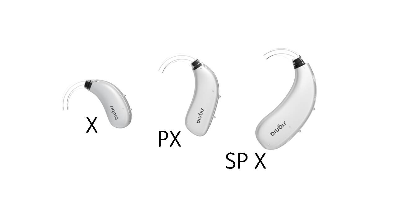 Signia Hearing Aid: Motion Charge&Go X Series