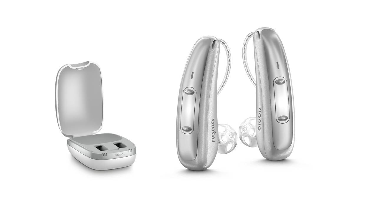 Signia Hearing Aid: Pure Charge&Go X 